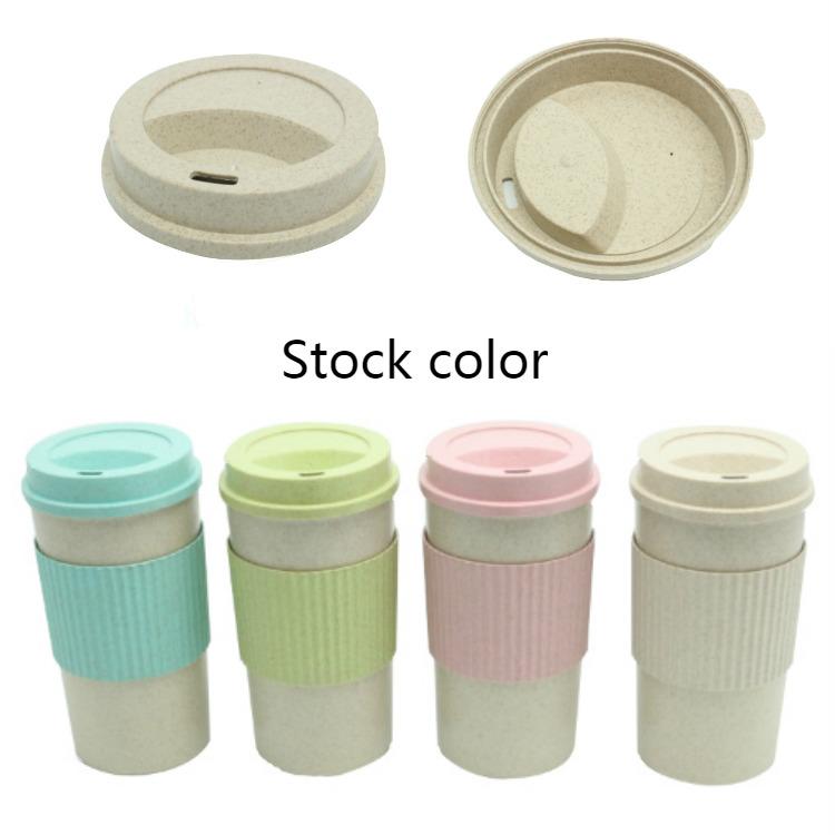 नि: शुल्क कस्टम लोगो नि: शुल्क नमूने पर्यावरण के अनुकूल 14oz Homeware कस्टम Takeaway Recyclable बांस फाइबर यात्रा कॉफी कप