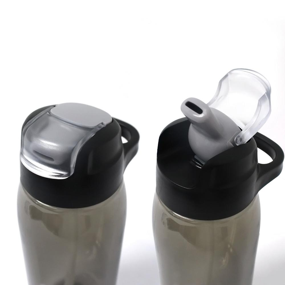 Sport bottle tritan, unique water bottle with straw, bottle 750ml plastic