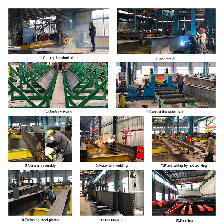 Wholesale price truss structure of steel structure construction power 8 workshop