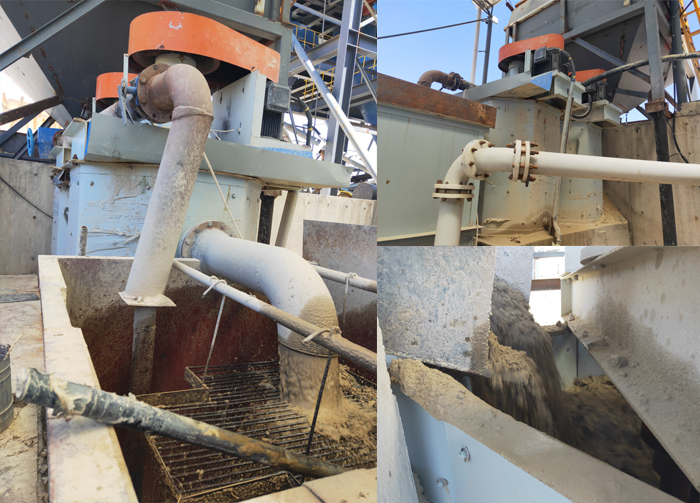 Attrition scrubber Sand Washing Machine Plant Production Line For Sale
