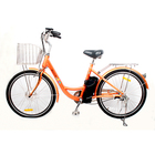 Electric city bike for adults Lithium battery booster Shock suspension High efficient Motor wholesale OEM