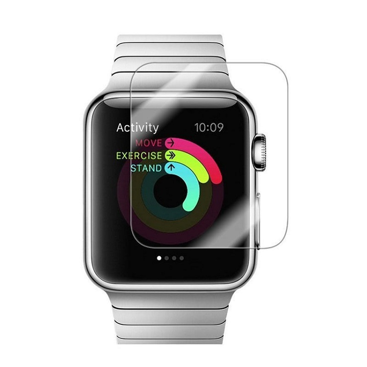 2.5d 9h protective film For Apple Watch 38 42mm Screen Protector For Apple Watch 4 3 2 1 Series Tempered Glass