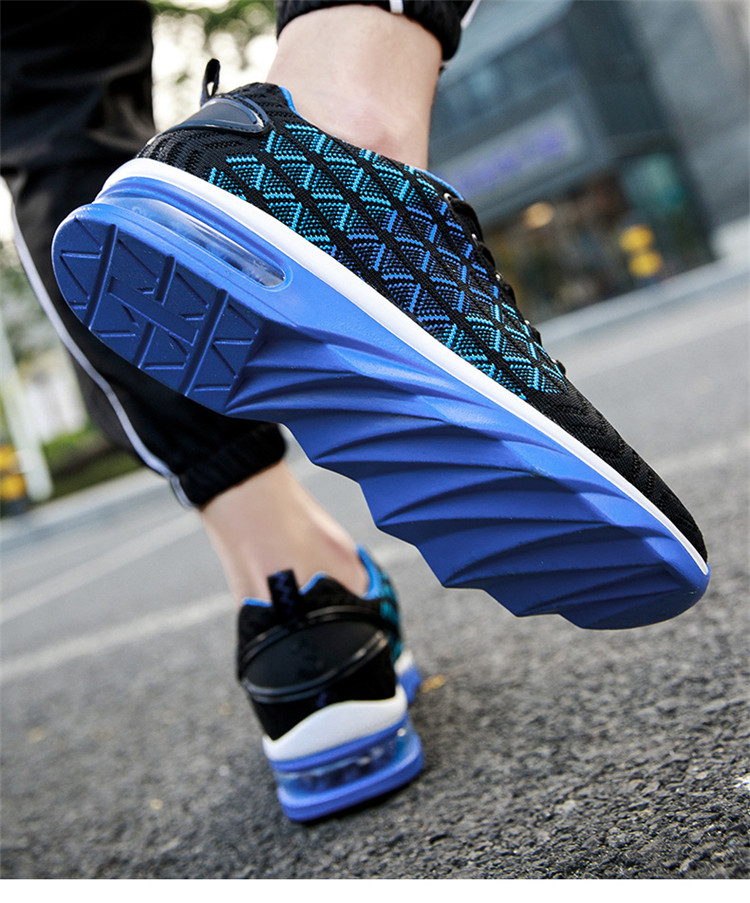 breathable mesh fabric zapatos-deportivos- custom running trainers sneakers china no brand sports shoes air for men women