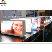 Advertising Led Screen Taxi Car Top Led Display Billboard