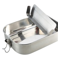 metal bento lunch box leakproof bento stainless steel lunch box leak proof with compartment stainless steel lunchbox bento