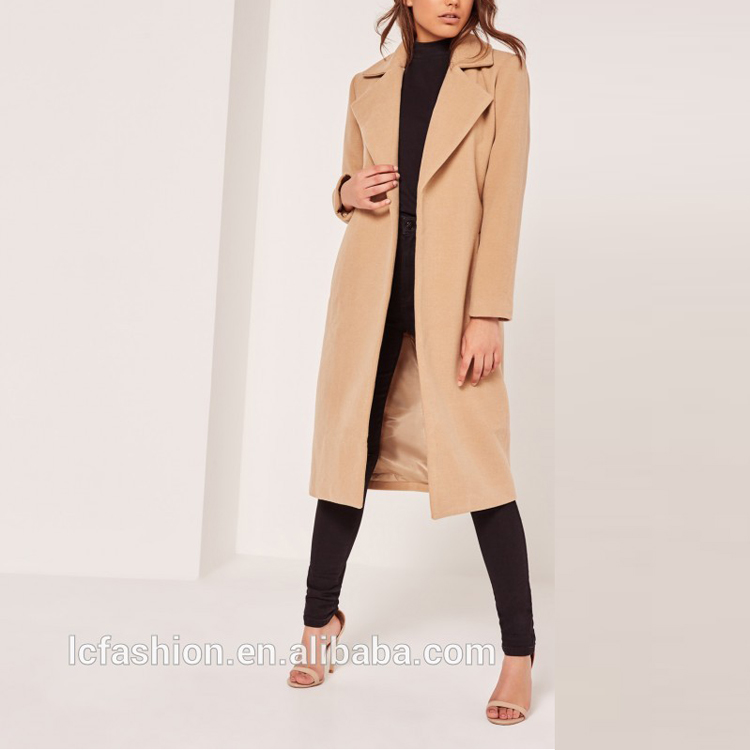 Moda Inverno Cappotto Donne Giacca Donna Alti Camel Brown Faux Lana Spolverino Cappotto Per Il 2018 Buy Cappotto Invernale Donne,Donne Giacca,Donne