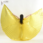 Children Dance Performance Props Belly Dance Accessories Egyptian Wings Gold Silver Isis Wings