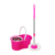 Bazhou best selling household cleaning spin magic mop 360 bucket with factory price