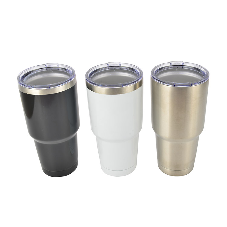 Wholesale Custom Logo Business Double Wall Stainless Steel Insulated Vacuum Cup