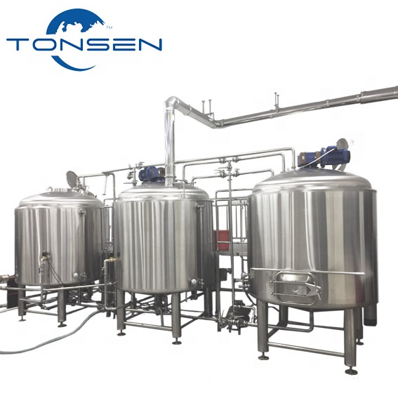 10BBL ou 1000 Tonsen Craft Beer Brewing Equipment Turnkey