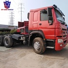 Used Howo 6x4 375hp Truck Tractor Units