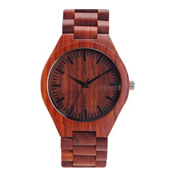 2019 wooden watch custom logo for men wood bracelet wholesale