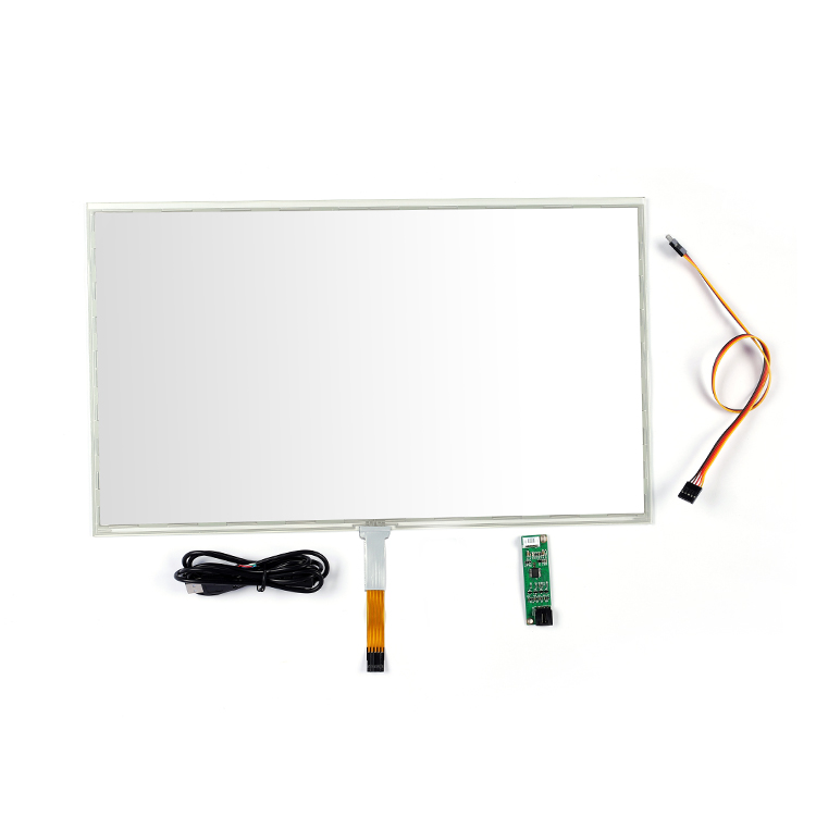 Best price 17&quot; 19&quot; 21.5 inch 5-wire resistive <strong>touch</strong> <strong>screen</strong> panel <strong>kit</strong> for pos machine <strong>touch</strong> <strong>screen</strong> monitor