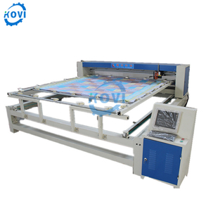computerized single head quilt mattress sewing quilting machine korea