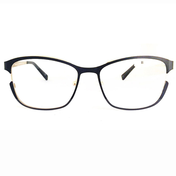 China Customized Fashion Red Metal Optical Frame Glasses