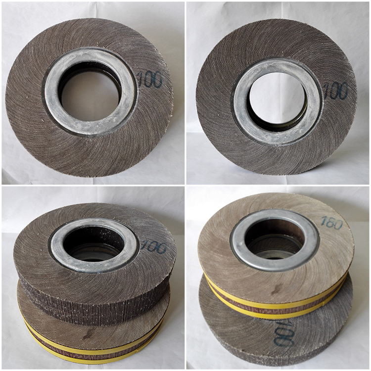 Factory price aluminium abrasive flap wheels