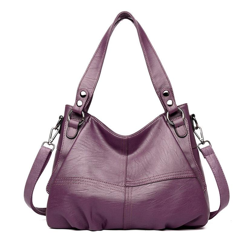 Женская сумка из натуральной кожи большие кожаные дизайнерские большие сумки-шопперы для женщин 2020 роскошная сумка через плечо известный б...(Китай)