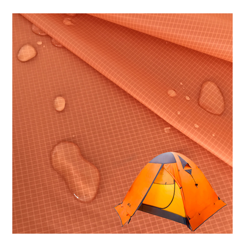 10D/15D/20D/30D ultra-light ripstop nylon silnylon fabric parachute hammock tent fabric