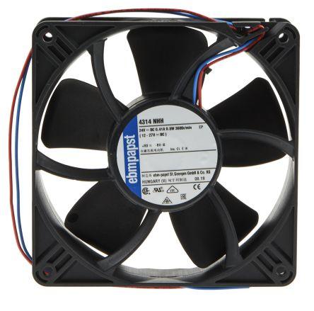 EBM-PAPST 4314NHH DC Fans Axial Fan Ball 119x32mm 24VDC 147CFM