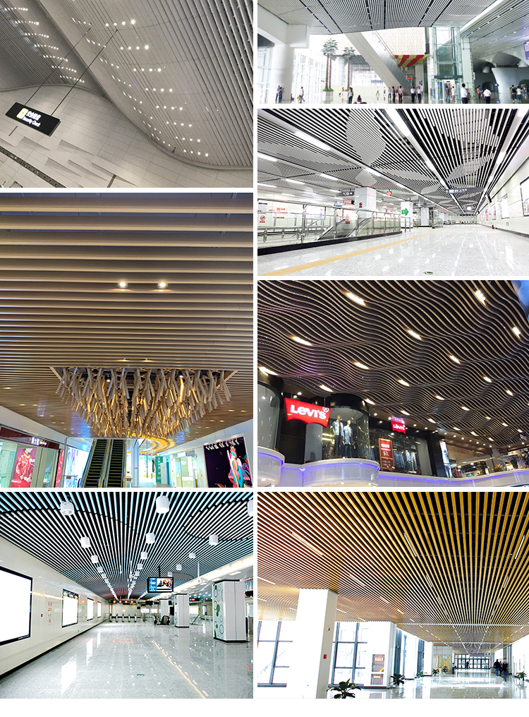Artistic Living Room Superior Metal Ceiling Board Decoration Plastic False Ceiling PVC Sheet