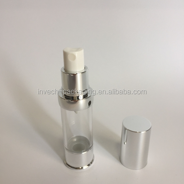 15ml 20ml 30ml pink airless bottle