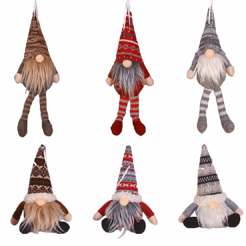 Kerstversiering Mini Creatieve Kerstman Kerstboom Hangers Bos Pop