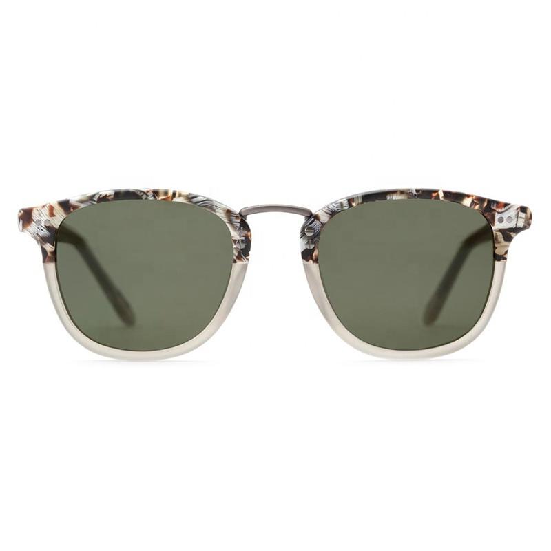 Benyi Vintage Classic fall sunglasses square women  man acetate sunglasses
