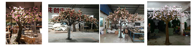 wholesale 400cm height artificial white cherry blossom tree for wedding centerpieces