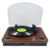 Portable Table Top Auto Stop 3 Speed Bluetooth Phono LP Turntable Vinyl Record Player