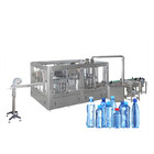 Automatic 3 in 1 small glass bottle water vodka wine beer washing filling and capping machine