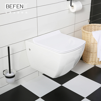 Beau New Vortex Flushing Square Wall Hung Toilet With Ce Wall Mounted Closet  Bf2496   Buy Wall Hung Toilet,European Wall Hung Toilet,New Design Toilet  ...