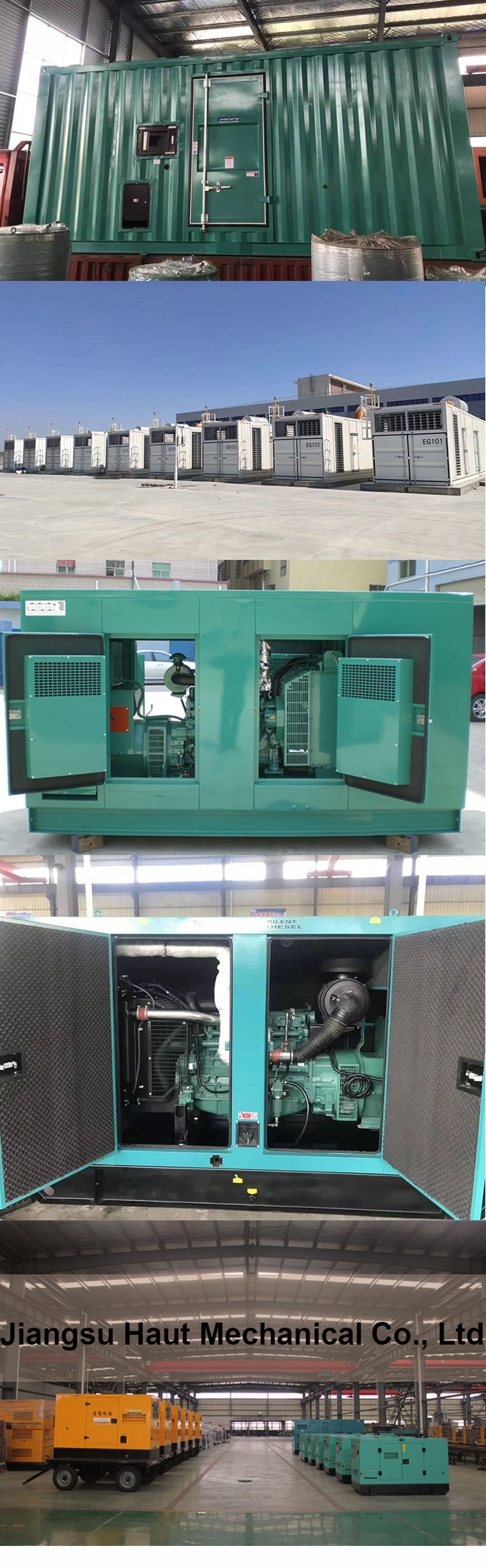 Power failure self-protection generator 50 kW Weichai silent diesel generator 62.5 kVA high-pressure water-cooled generator
