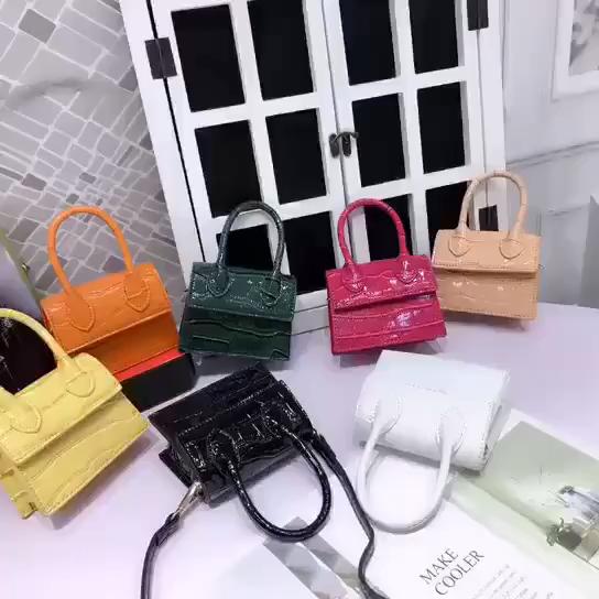 Marka üreticileri çin moda deri Mini çanta kadın çanta 2020 bayanlar çanta çapraz vücut çanta zarif el çantaları