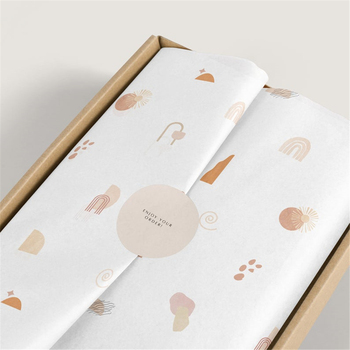 customized tissue wrapping paper with company logo