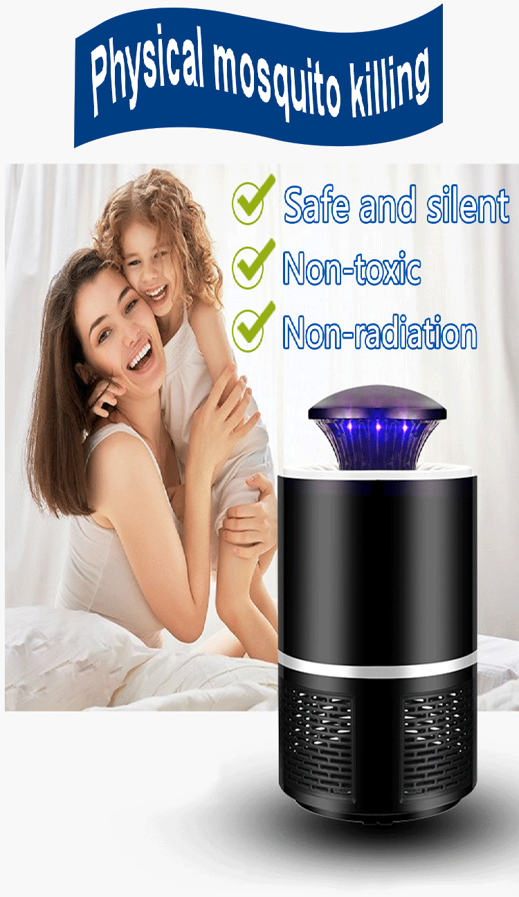 Non-Chemical USB Powered Electronic Mosquito Killer Non-Radiative Mosquito Lamp