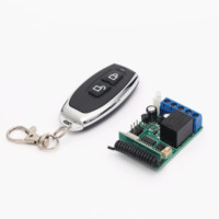 Professional Manufacturer Universal Wireless Switch Relay Receiver Module RF Transmitter garage door Remote Control