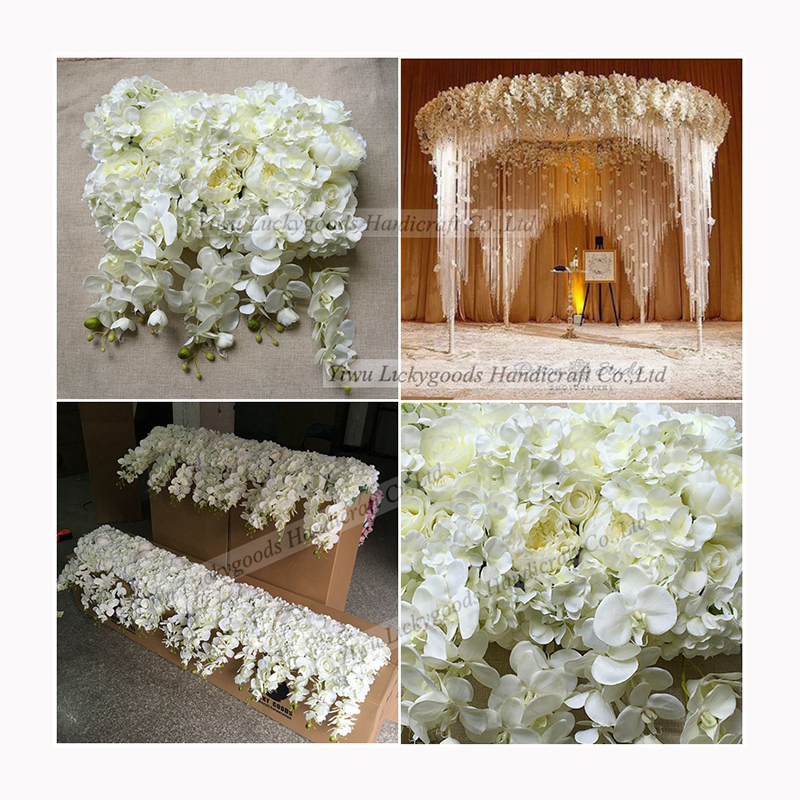 LFB365 China manufacturer artificial orchid wedding decorative table centerpiece flowers for sale