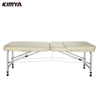 Cheap price portable lightweight foldable metal acupuncture spa table massage bed