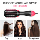 One Step Hair Dryer Hot Air Comb Electric Hair Straightener Flat Iron Brush Hot Air Brush