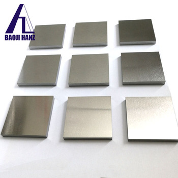 Hot sale polished tungsten alloy sheet/tungsten copper alloy