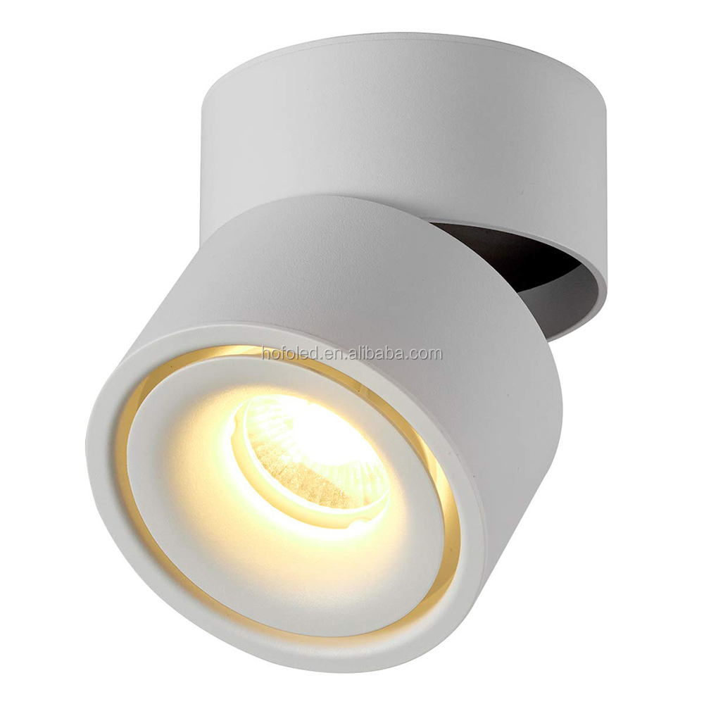 360 Degree Rotatable 7W 10W 12W 15W LED Ceiling Spot Light Surface Mounted Ceiling <strong>Downlight</strong>