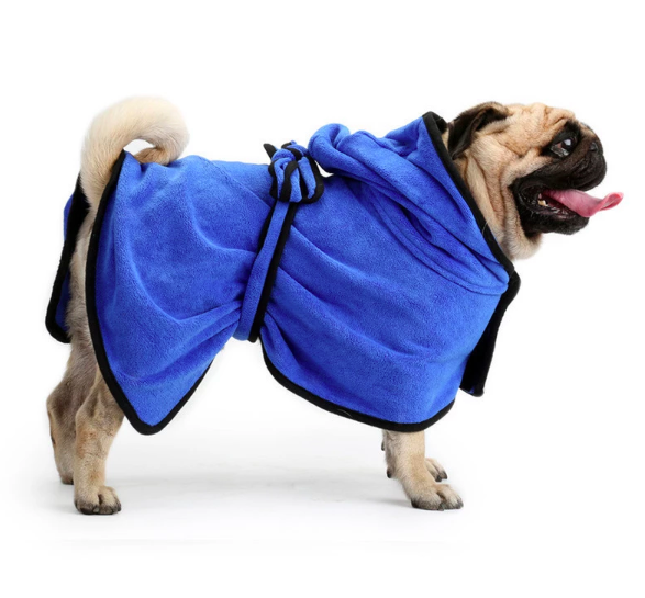 Pet Bath System Microfiber Pet Towels Dog Bathrobe Puppy Moisture Absorbing Towels For Shower