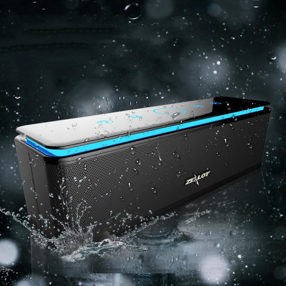 Zelot S7 Kuat Portabel Bluetooth Speaker Subwoofer 4 Pengeras Suara Hi Fi Home Theater Sistem Audio Speaker Nirkabel