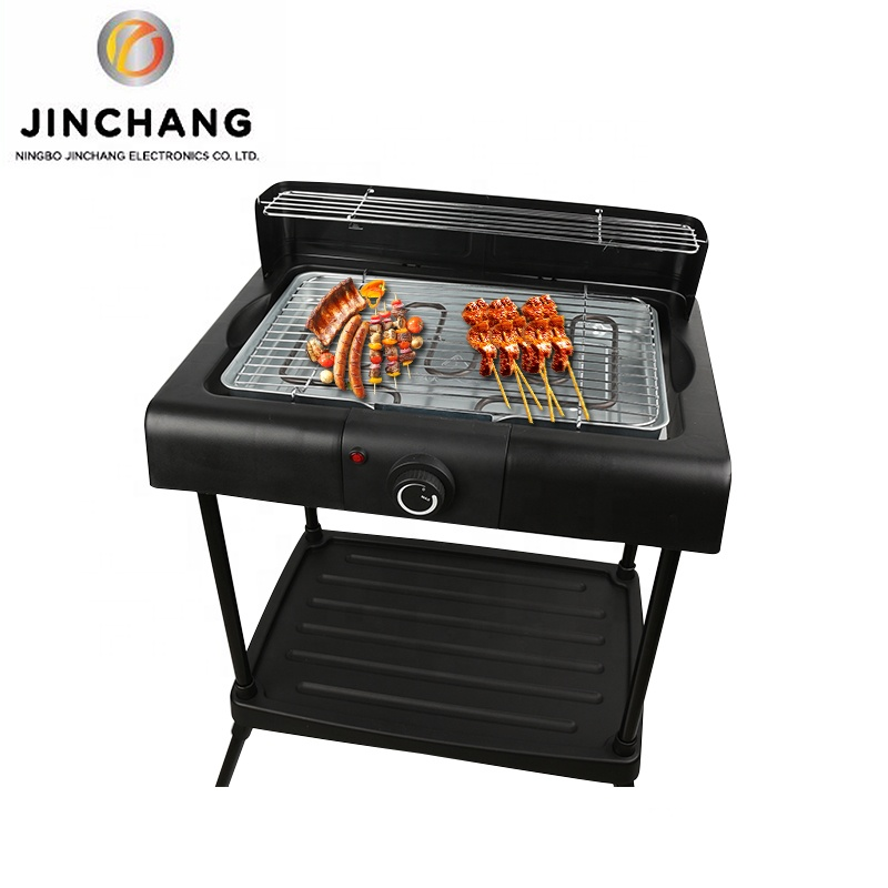 Outdoor 2400w Elektrische Hamburger Barbacoa Char Grill