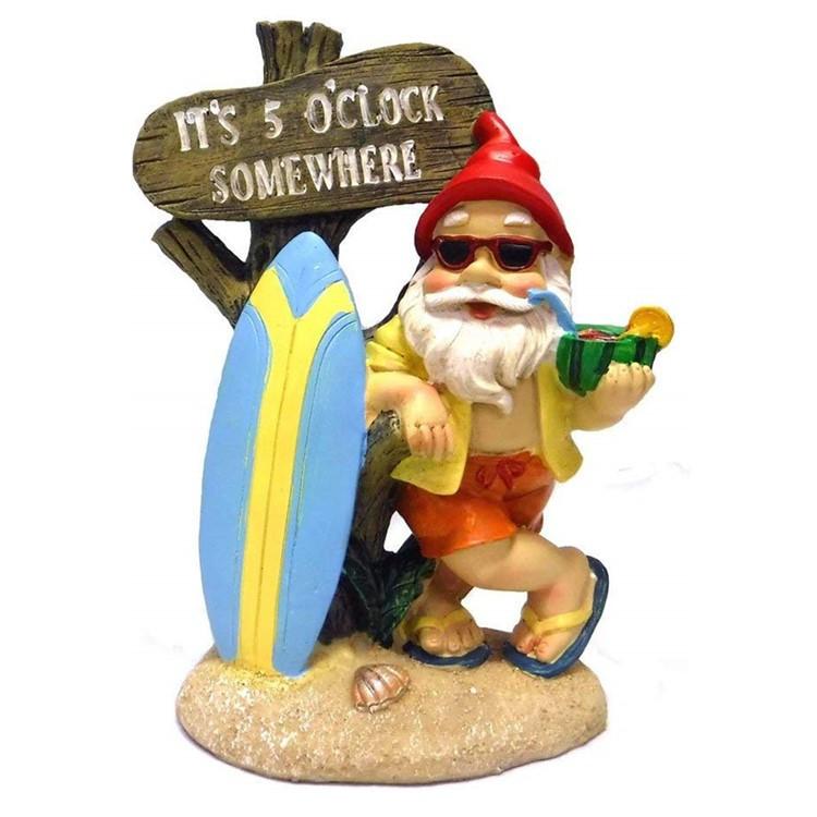 New Fairy Tale Fairy Resin Gnome Figurines, Custom Handmade Fairy Polyresin Gnomes Figure$
