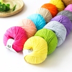 New fashion Colorful 100% knit cotton yarn for knitting sweaters
