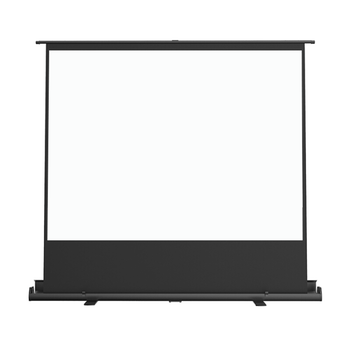 Pull up projector screen with 4:3 format160*120cm Mobile Portable Floor projector Screen