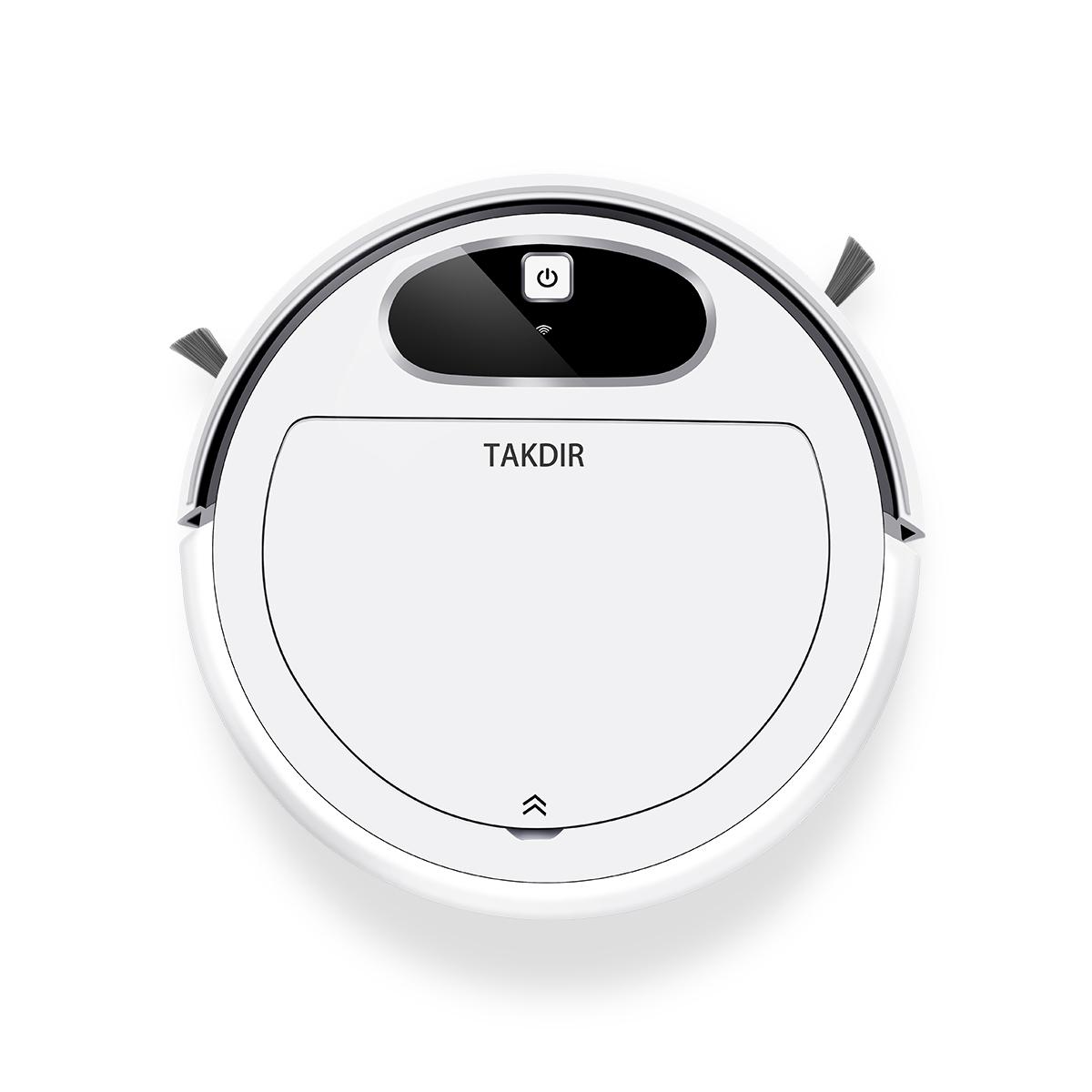 WiFi APP Smart Household Office Floor Mopping Cleaning Machine Robotic Vacuum Cleaner
