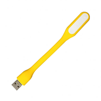 2020 Flexible USB LED Light Silicone 5V 1.2W MINI USB Lamp For Power Bank Computer Laptop