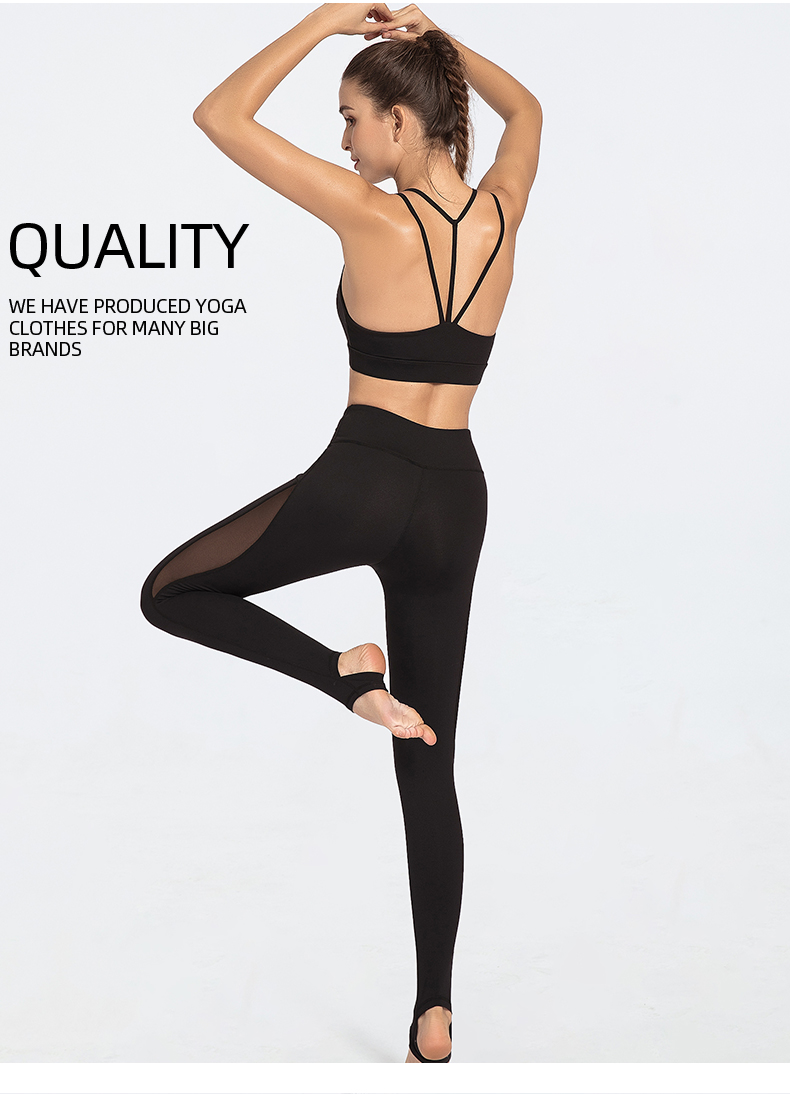 2020 foreign trade wholesale hot style women yoga wear sports bra leggings fitness clothing